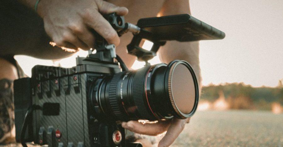 Filming in Cyprus